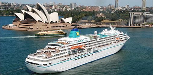 MS Amadea vor Australien